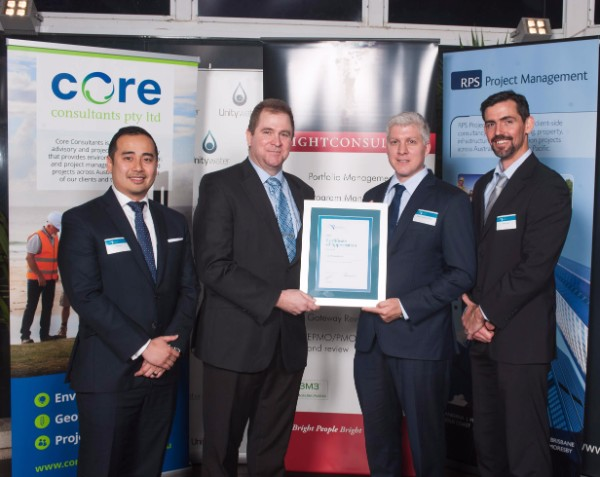 Core Consultants Sponsors Queensland AIPM Project Management Achievement Awards